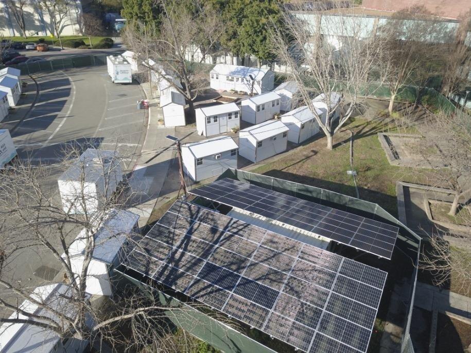 Green energy powers Casitas de Esperanza in San Jose, CA